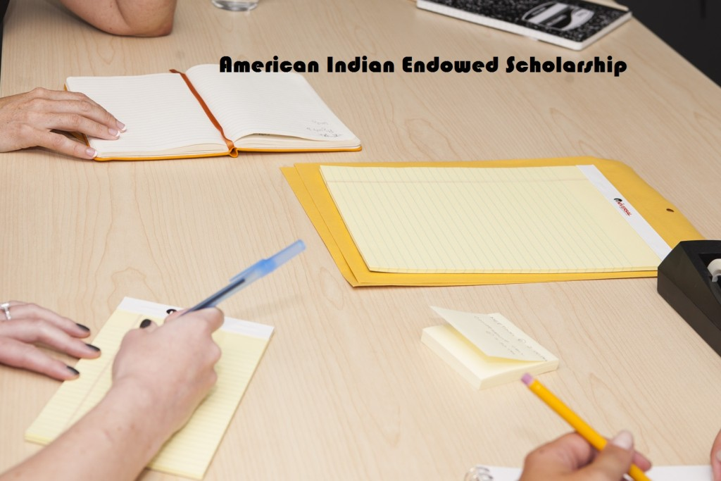 American Indian Endowed Scholarship