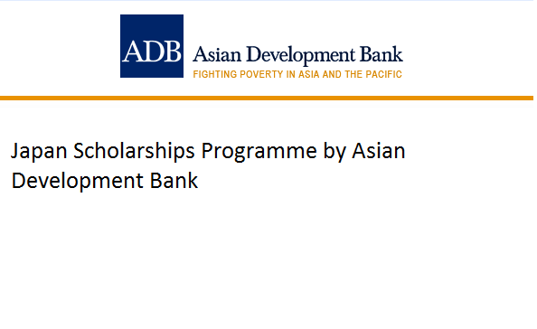 Japan Scholarships Programme by Asian Development Bank